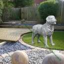 Rottweiler kutya szobor