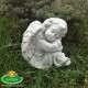 Karácsonyi síremlék dísz őrző angyal