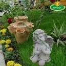 Karácsonyi síremlék dísze imádkozó angyal