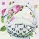 kerti virágtartó kosár