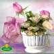 virágtartó oszlopfő