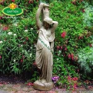 Kerti dísz szobor amforás vízköpő