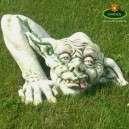 Troll szörny vicces kerti figura