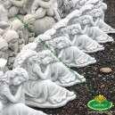 angyalkás szobrok