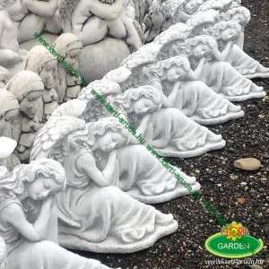 Angyal szobor kőből