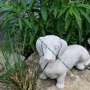 Tacskó kutya szobor