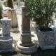 Antikált kerti díszkút