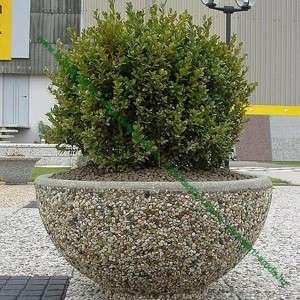 Utcai virágtartó óriás ültető edény