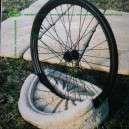 Utcai bicikli tartó