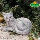 macska kerti díszfigura