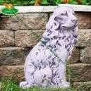 Spániel kutya szobor