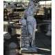 Korsós nő szobor