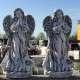 Nagyméretű angyal szobor