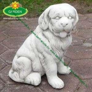 Kuvasz kutya szobor
