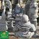 Nagy pocakos Buddha szobor