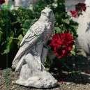 Vércse madár szobor