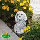 Kutyus aranyos kerti figura