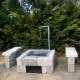 házilag összerakható kerti grill
