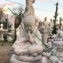 Shaolin szerzetes szobor