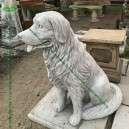 Nagytestű kutya szobor