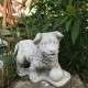 Kerti kutya szobrok