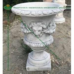 Kő virágtartó készítés