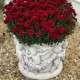 Angyalkás virágtartó