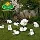 Vicces kerti figurák gyártása jegesmedvék