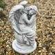 Sírkőre angyal szobor