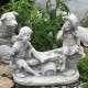 gyerekek szobor
