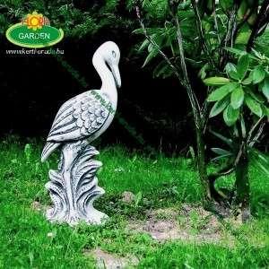 Gólya kerti dekoráció