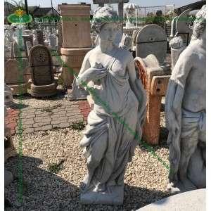 Íjász nő 145cm női szobor