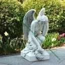 Szomorú angyal szobor