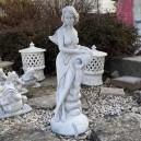 Amforás vizköpő szobor