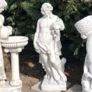 Bacchus szőlő és bor istene szobor