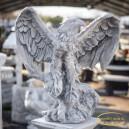 Repülő sas szobor