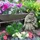 Boszorkány kerti dekor