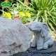 Elefánt vízköpő kerti figura
