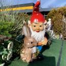 Kerti törpe húsvéti dekoráció
