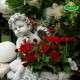 karácsonyi sírváza