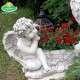 Karácsonyi virágtartó angyalka