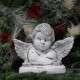 Fekvő angyalka dekoráció