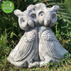 Bagoly szobor összetartozás