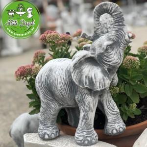 Fehér elefánt szobor