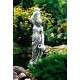 Két korsós nő nagy kerti szobor