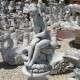 Kerti szobor nő