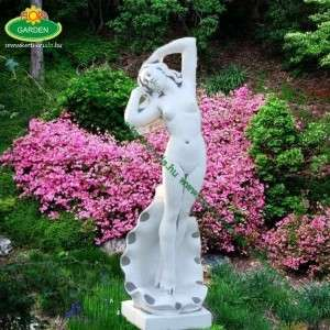 Eladó női szobor kagylólány