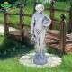 Női szobor vízöntő kétkorsós