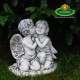 Ünnepi angyalkás dekoráció
