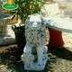Címeres oroszlán szobor